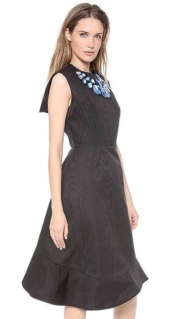Vika Gazinskaya Bell Shaped Dress with Uneven Hem