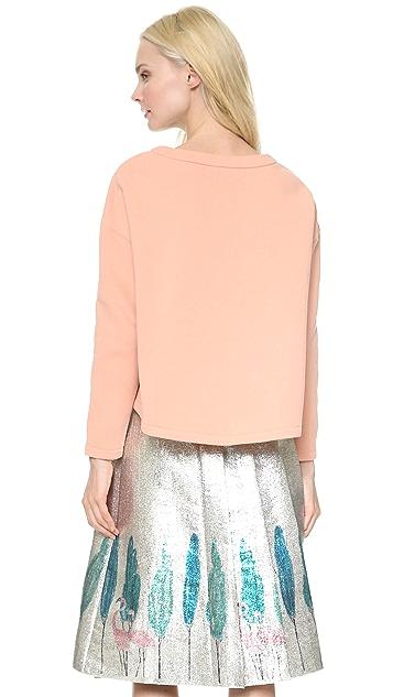 Vika Gazinskaya Cropped Sweatshirt