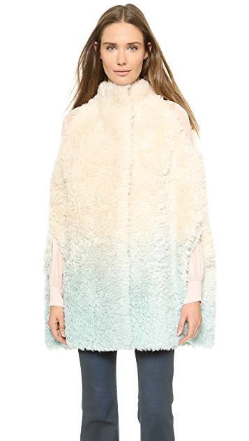 Vika Gazinskaya Wool Degrade Cape