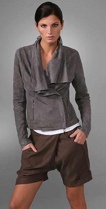 tobi jacket outerwear nava product drapes camel suede trendy anorak draped faux us
