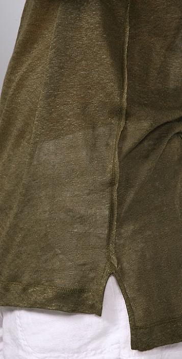 Vince Long Sleeve Tunic