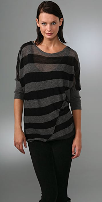 Vince Fractured Stripe Sweater