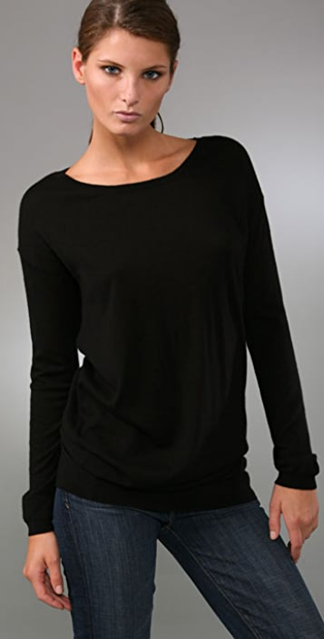Vince Asymmetrical Sweater