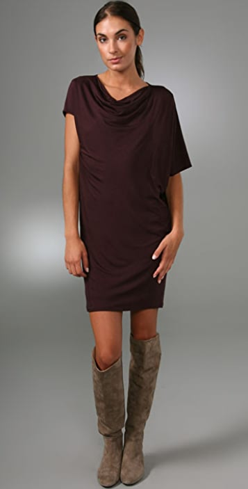 Vince Cowl Neck Dress