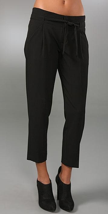 Vince High Waist Crop Pants
