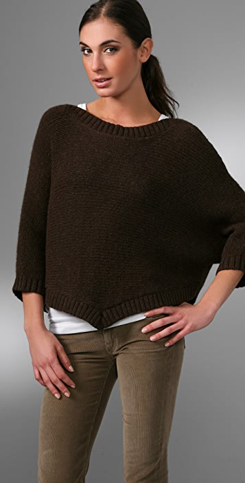 Vince Poncho Sweater