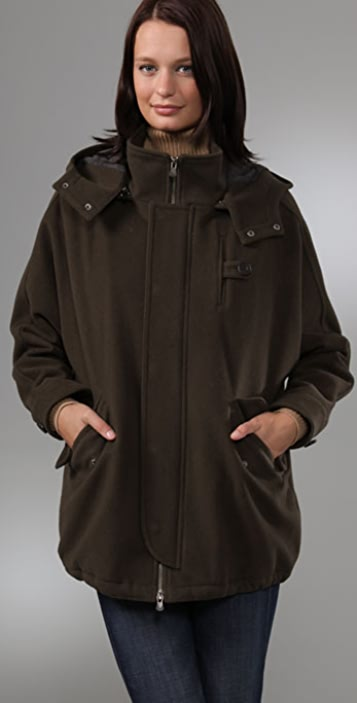 Vince Hooded Anorak