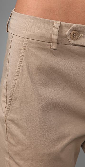 Vince Tab Front Skinny Pants