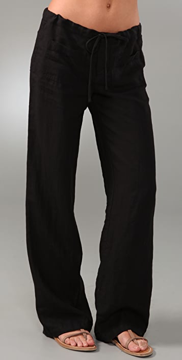 f10434f398 Vince Drawstring Linen Pants | SHOPBOP
