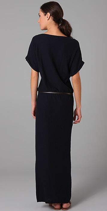 Vince Long Belted Dress