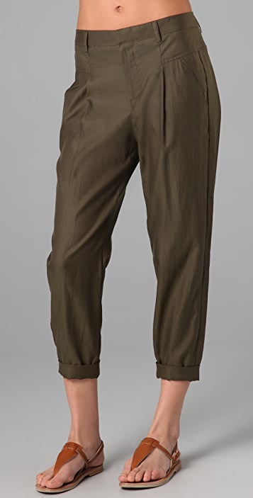 Vince Cropped Slouch Pants