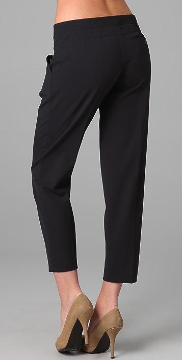 Vince Grosgrain Belted Pants