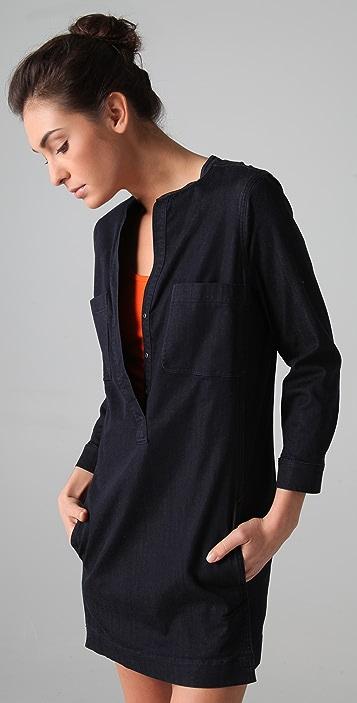 Vince Denim Shirtdress