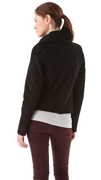 Vince Scuba Shearling Jacket