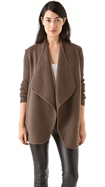 Vince Boiled Wool Jacket