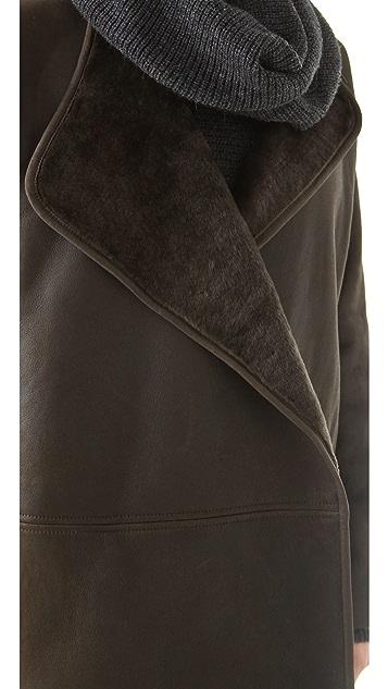 Vince Shearling Coat