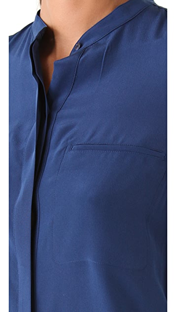 Vince Silk 2 Pocket Shirt