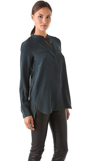 Vince Silk 2 Pocket Shirt