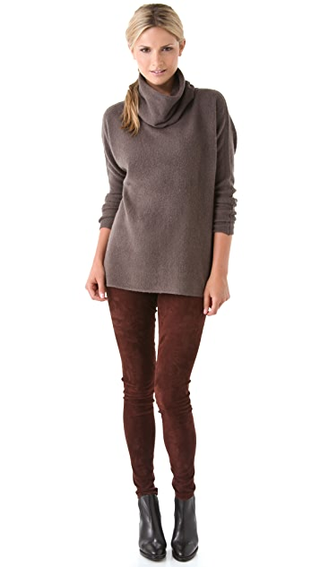 Vince Luxury Cowl Sweater
