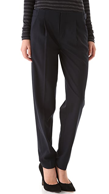 Vince Relaxed Side Buckle Pants