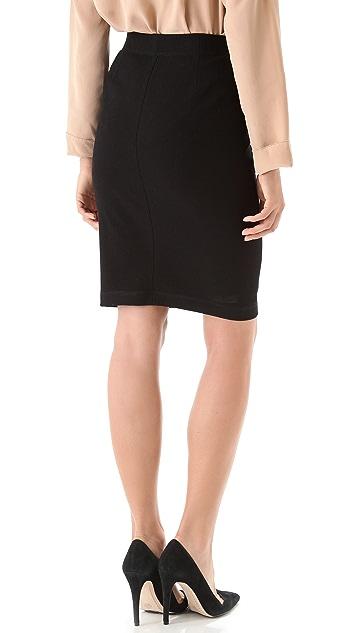 Vince Textured Pencil Skirt