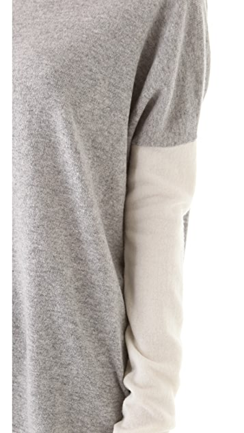 Vince Colorblock Crew Sweater
