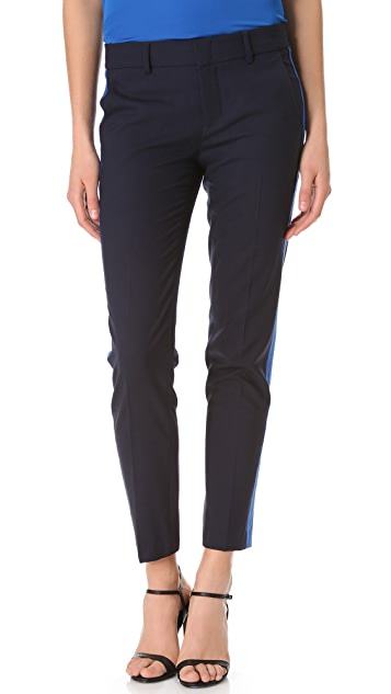 Vince Contrast Strapping Pants