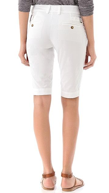 Vince Buckle Bermuda Shorts