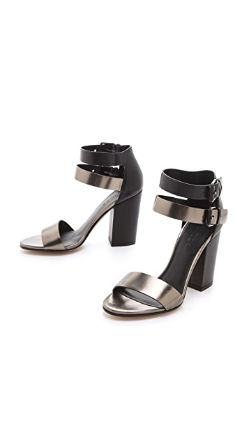 Vince Lana Metallic Sandals