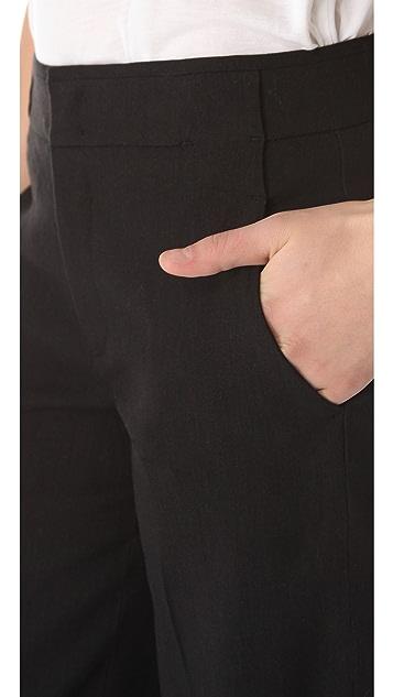 Vince Wide Leg Linen Pants