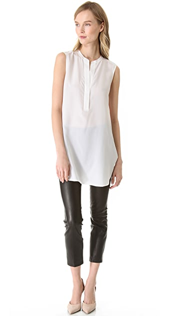 Vince Sheer Back Tunic