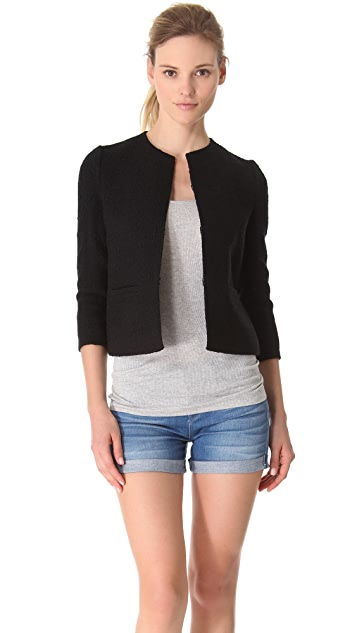 Vince Boucle Cropped Jacket