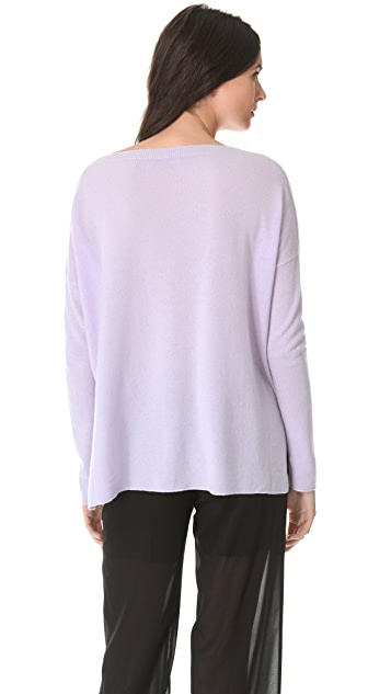 Vince Rib Cashmere Sweater