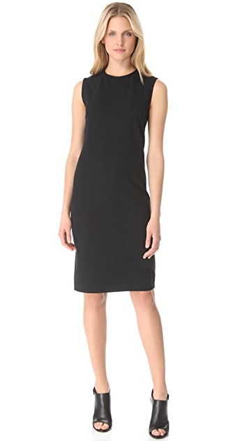 Vince Rib Knit Sleeveless Dress