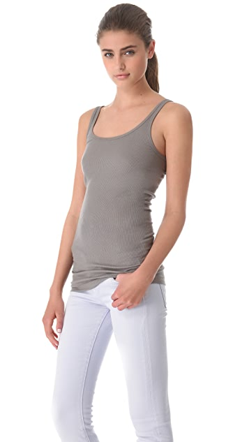 Vince Ribbed Favorite Tank