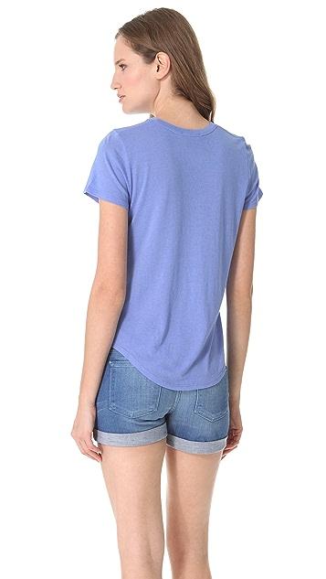 Vince Shirt Tail Tee