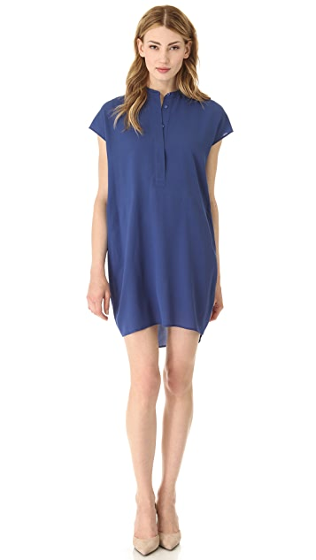 Vince Half Placket Dress