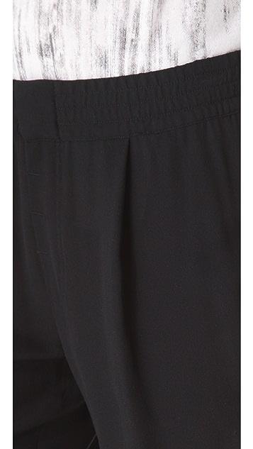 Vince Silk Jogger Pants