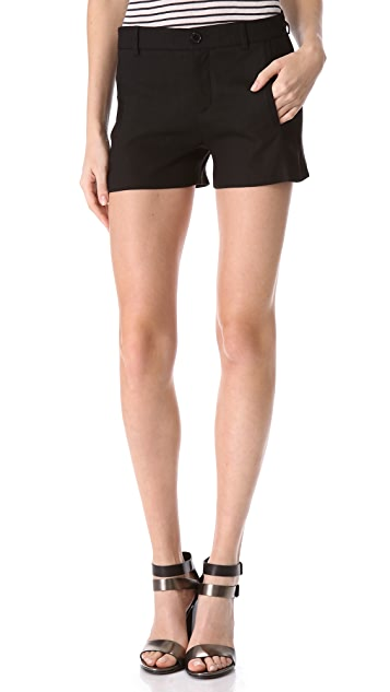 Vince Linen Trouser Shorts