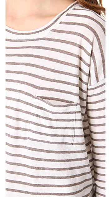 Vince Fisherman Stripe Tee