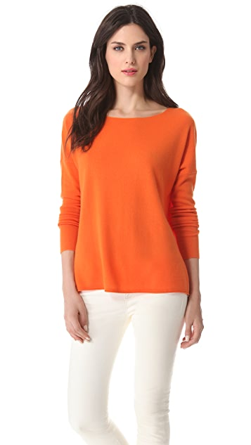 Vince Cashmere Drop Shoulder Sweater