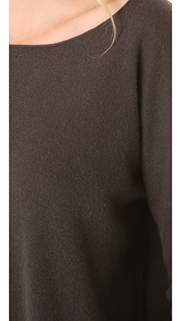 Vince Cashmere Drop Shoulder Sweater