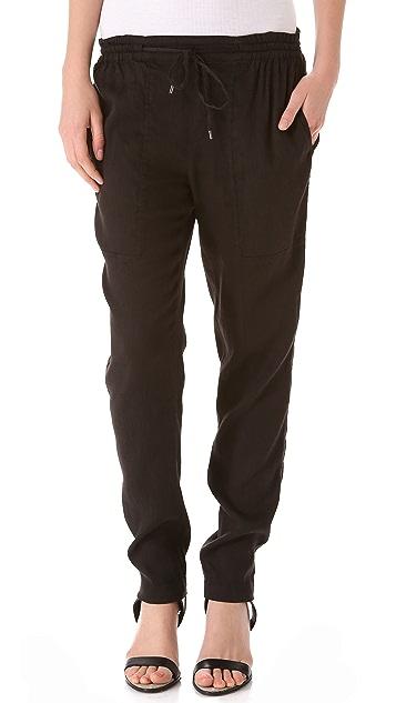 Vince Linen Jogger Pants Shopbop Sale On Sale Save Up