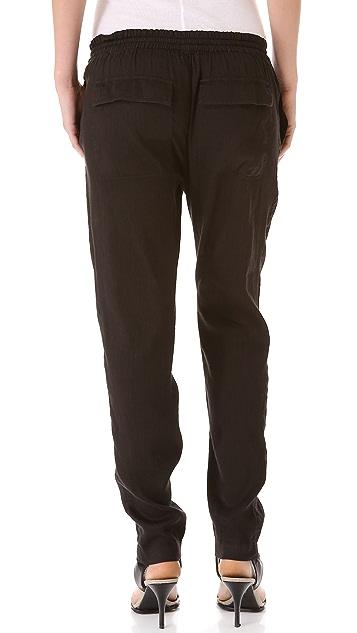 Vince Linen Jogger Pants Shopbop