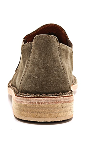 Vince Mia Suede Flat Booties