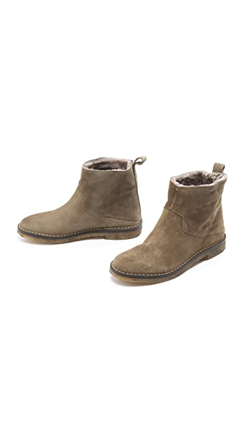 Vince Carrie Suede Booties