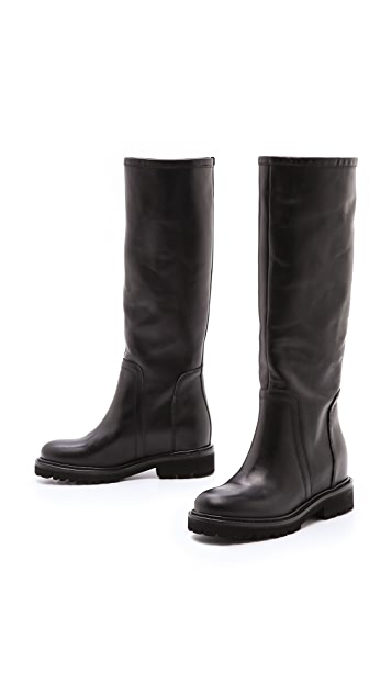 Vince Crosby Tall Flat Boots