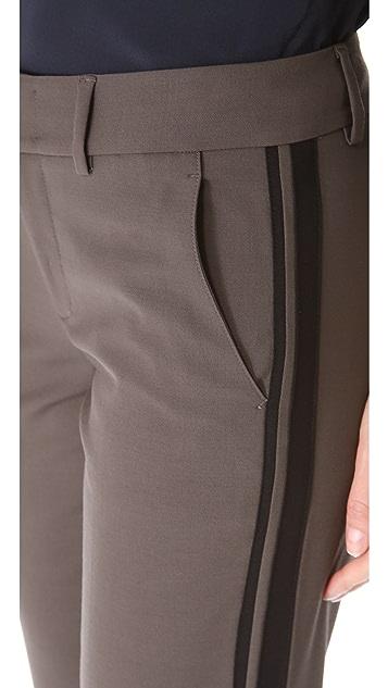 Vince Colorblock Side Strap Trousers