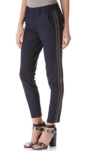 Vince Colorblock Side Strap Trousers