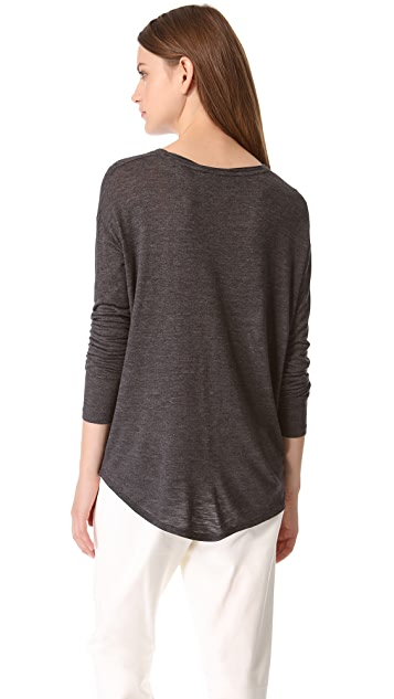 Vince Rolled Neck Top